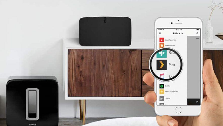 Sonos wordt compatibel met Plex