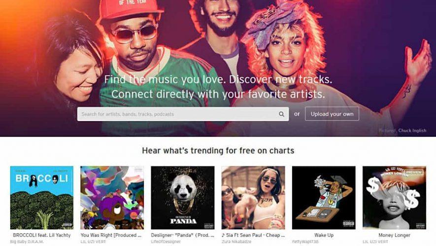 SoundCloud staat in de verkoop