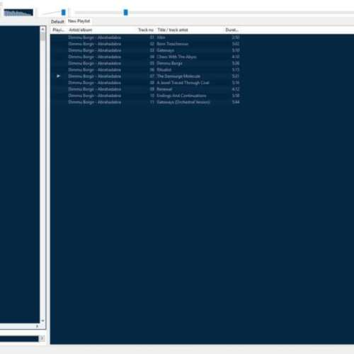 Foobar interface