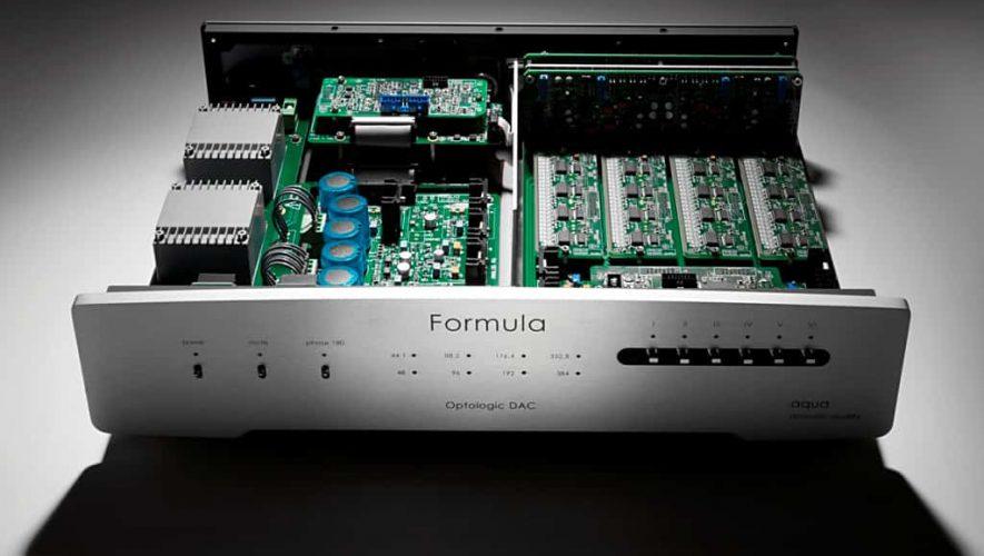 De Aqua Acoustics Optologic DAC beschikt over een discreet opgebouwde converter
