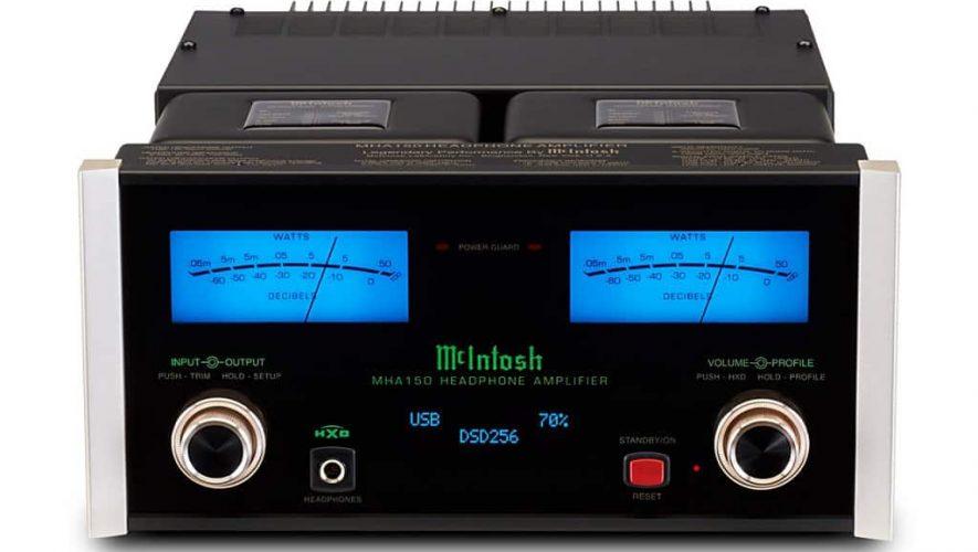 De nieuwe McIntosh MHA150 hoofdtelefoonversterker
