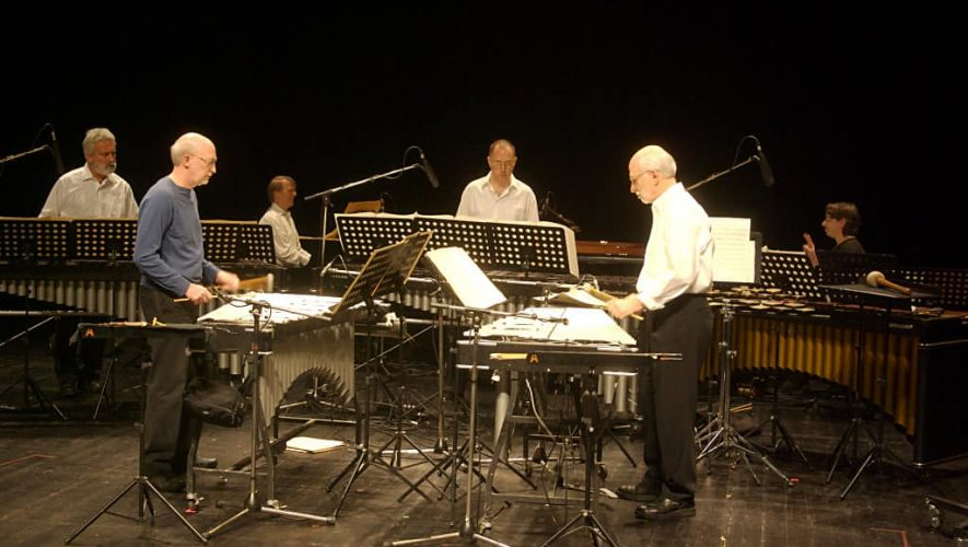 Het Steve Reich-ensemble in actie (foto: Wikipedia.org)