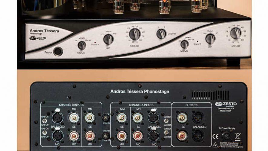 Zesto's Andros Téssera phono-voorversterker