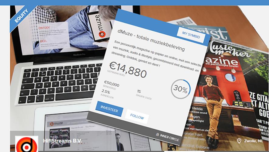 dMuze wil via crowdfunding een droom realiseren