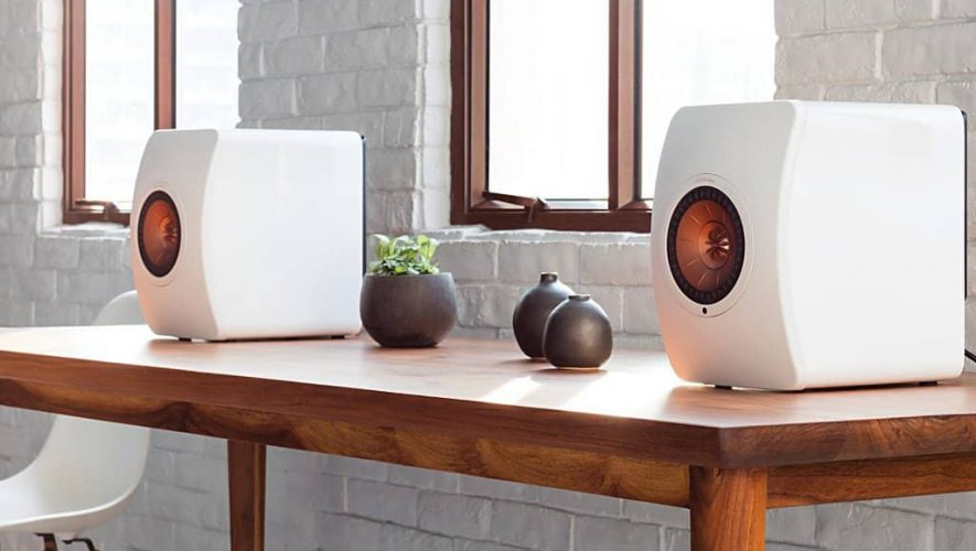 De KEF LS50 Wireless speakers