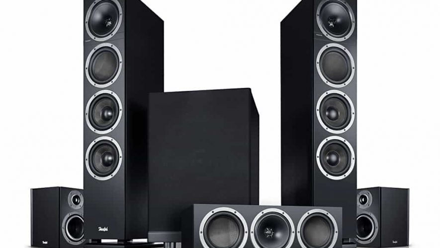 De volledige Teufel Theater 500 Surround-set