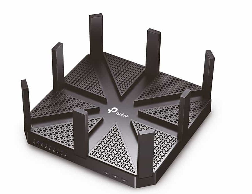 De TP-Link Talon AD7200 AD-router