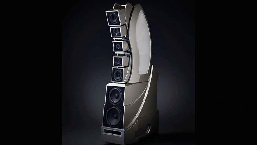 De in ontwikkeling zijnde WAMM Master Chronosonic van Wilson Audio