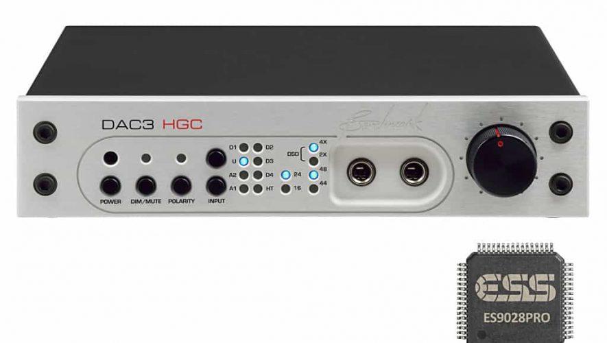 De Benchmark DAC 3 met een ES9028PRO van ESS als kloppend hart.