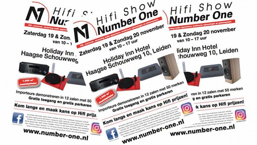 Bezoek de Hifi Show Number One in Leiden