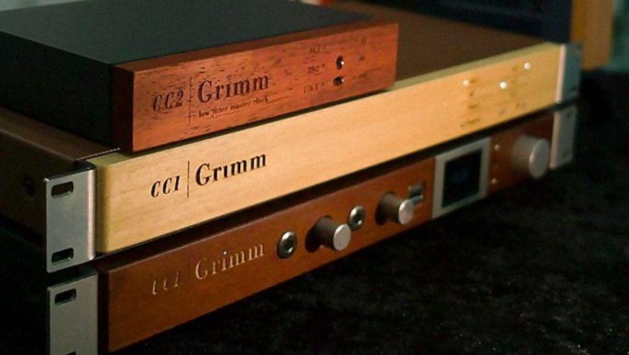 Het illustere drietal van Grimm Audio op een rijtje