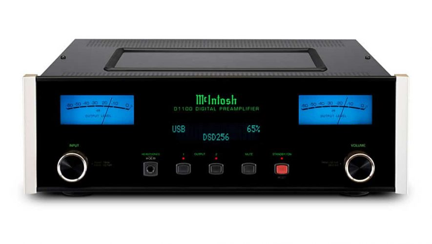 De nieuwe McIntosh D1100 digitale voorversterker