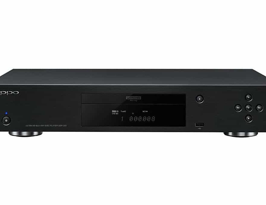 De Oppo UPD-203 4K Blu-ray-speler
