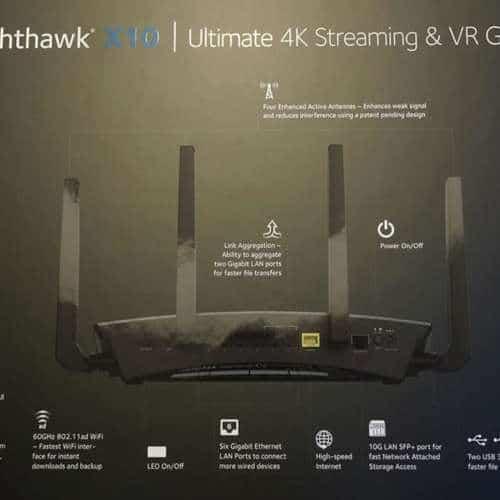 Netgear Nighthawk X10 - R9000