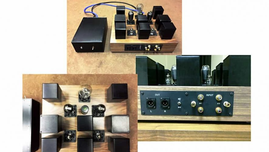 De Next Sound LX Tube phono-voorversterker