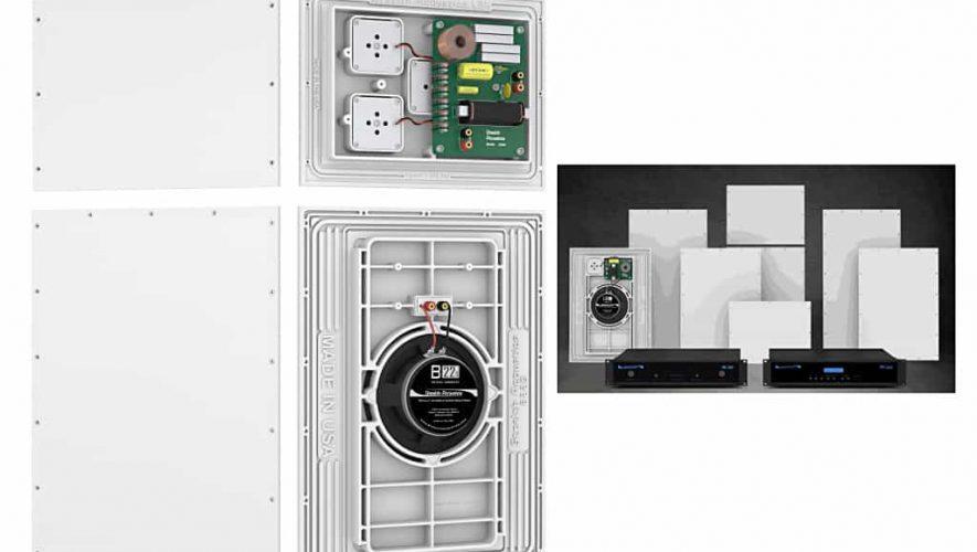 Stealth Acoustics brengt een serie volledig onzichtbaar weg te werken speakers uit
