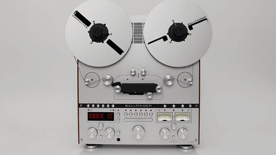 De Tonbandmaschine M 063 van Ballfinger
