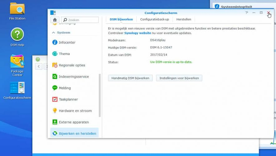 Synology DSM 6.1 is vanaf vandaag beschikbaar