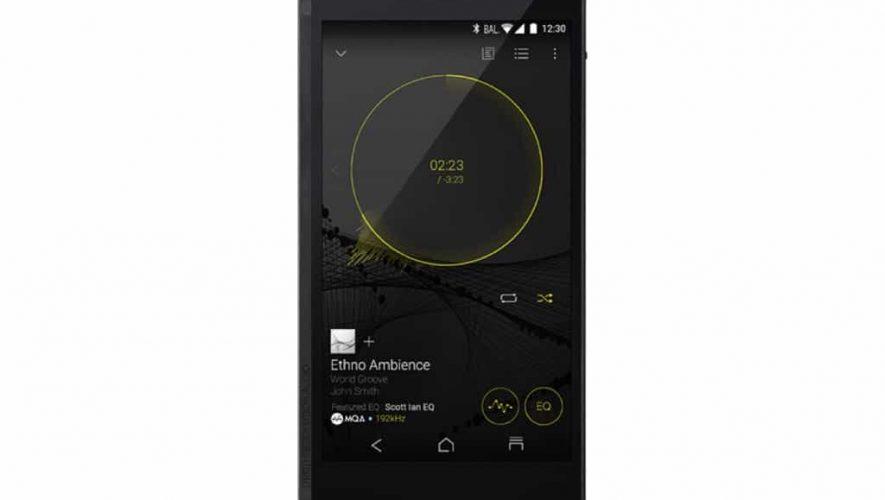 De audiofiele smartphone van Onkyo