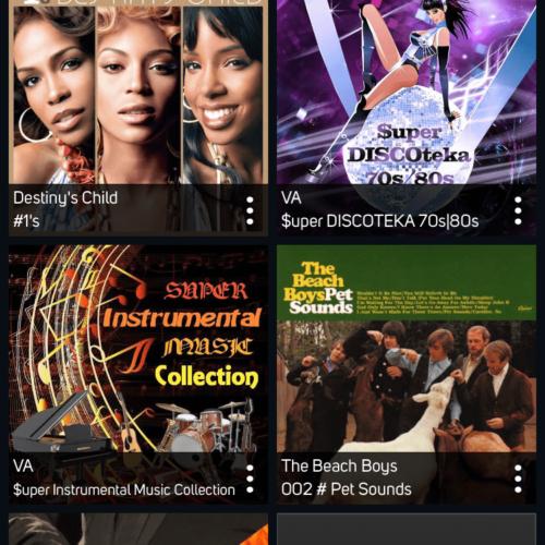 BluOS Albums