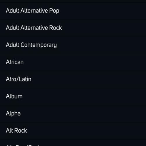 BluOS Genre NAD M50.2