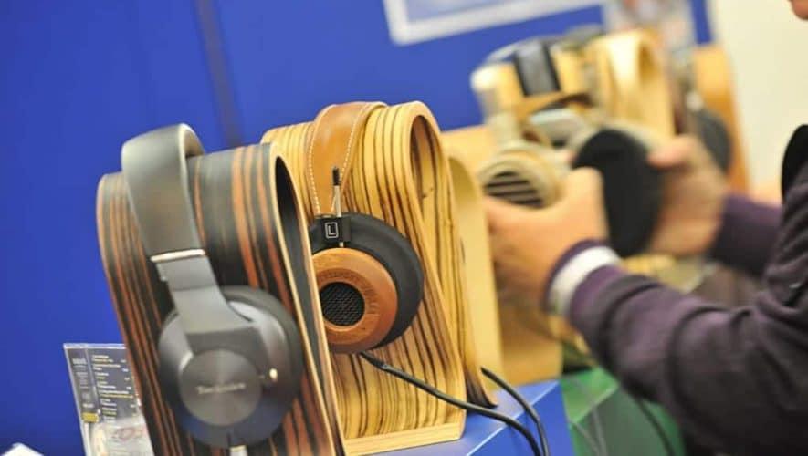 Ook dit jaar is er weer een 'koptelefoonbar' te vinden op de High End München