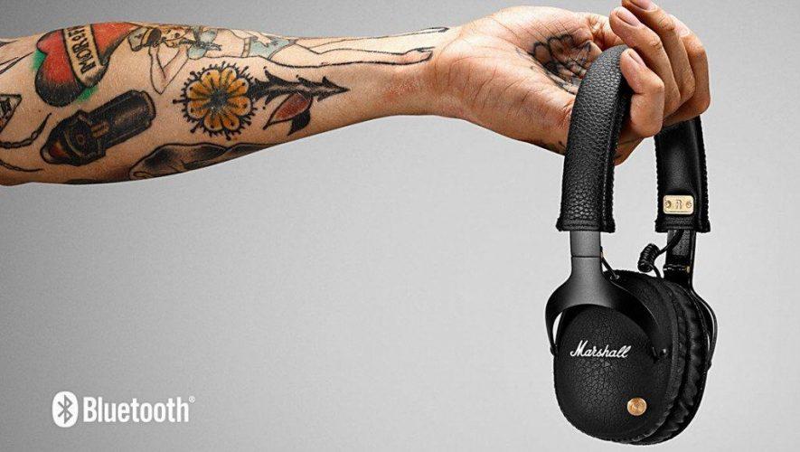 De Marshall Monitor Bluetooth draadloze hoofdtelefoon
