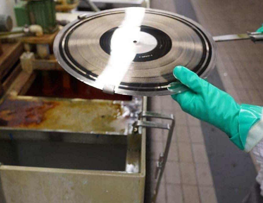 Matrijs maken vinyl