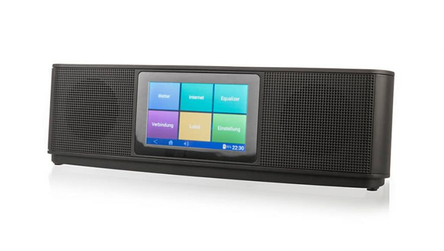De XORO HMT 200 all-in-one internetradio