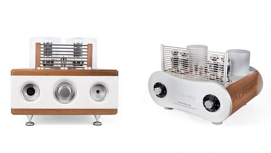 De nieuwe Auris Audio buizenversterkers
