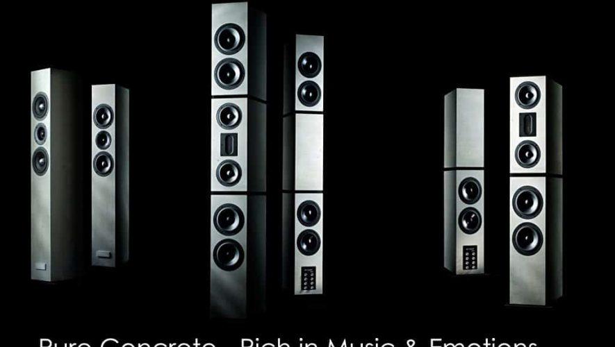 BETONart-audio maakt speakers van beton