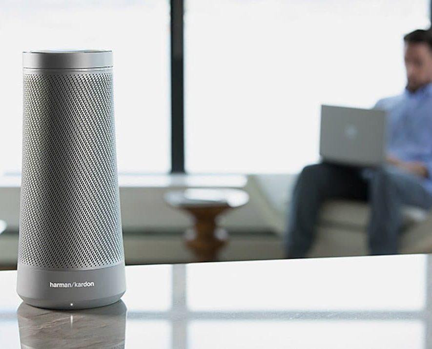 De Invoke, Harman Kardon's via Cortana slimme speaker