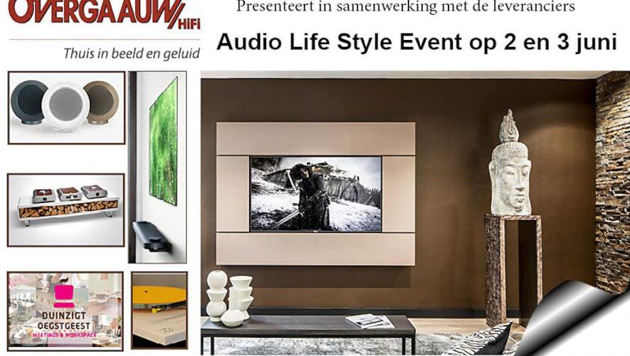 Het Overgaauw Audio Lifestyle Event vindt plaats op 2 en 3 juni