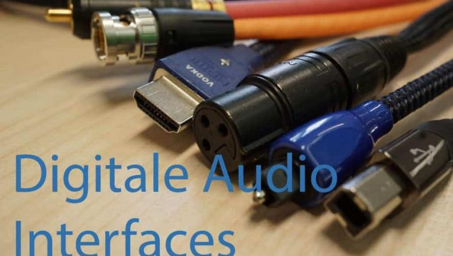 digitale audio interfaces