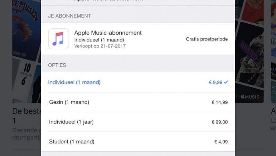 Bespaar geld op Apple Music met het 'verborgen' jaarabonnement
