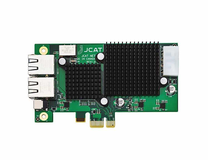 De JCAT NET Card FEMTO audiofiele netwerkkaart