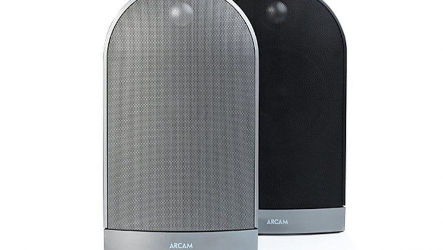 De Arcam Muso is leverbaar in zilver en zwart