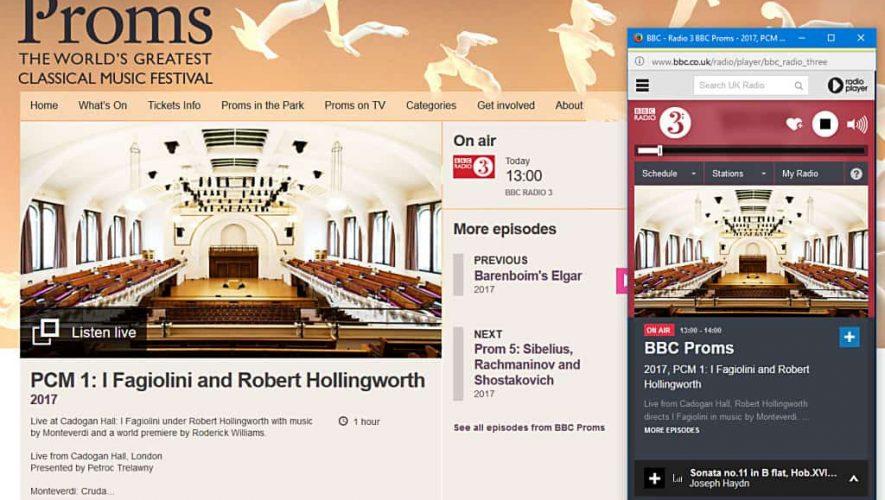Beluister BBC Proms als FLAC-stream