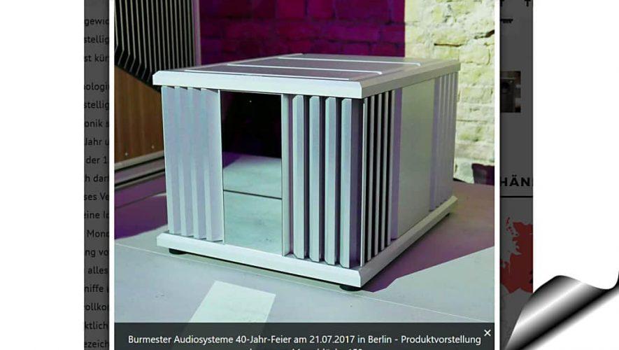 De nieuwe Burmester 159 (bron afbeelding: https://www.fidelity-magazin.de/2017/07/23/40-jahre-burmester-audiosysteme/)
