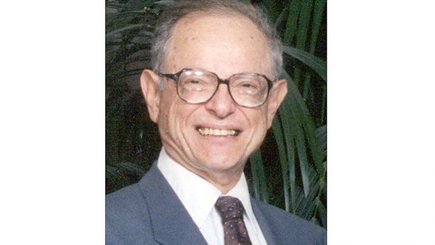 Martin L. Borish, vader van NAD, overleden