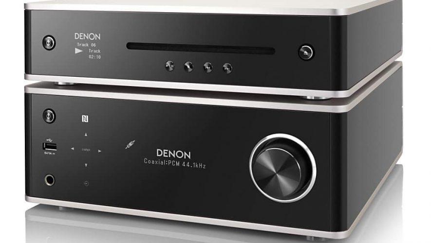 De Denon DCD-100 gekoppeld aan de DRA-100