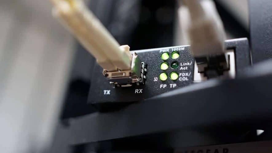 Fiber netwerk audio