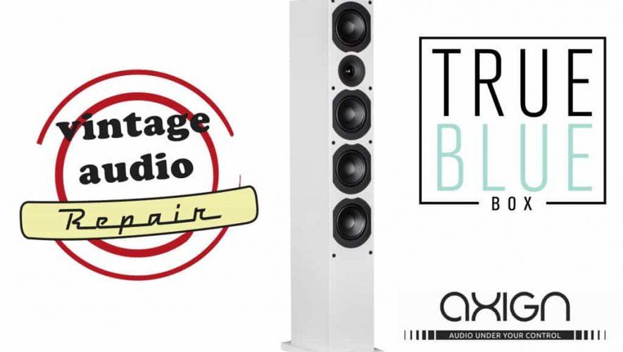 Luister op de XFI naar de nieuwe versterkertechnologie van Axign en pik gelijk wat kennis op betreffende Vintage Audio Repair