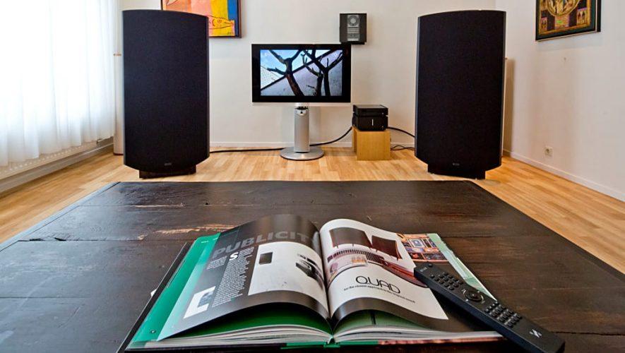 Het nieuwe Quad belevingshuis bij Poulissen Audio Video Center