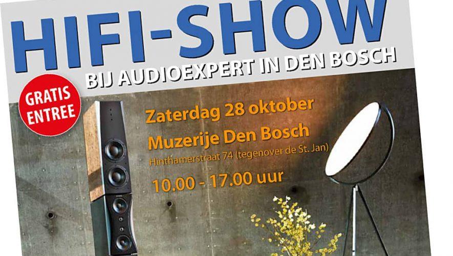 High End Streaming Event bij Audioexpert op 28 oktober