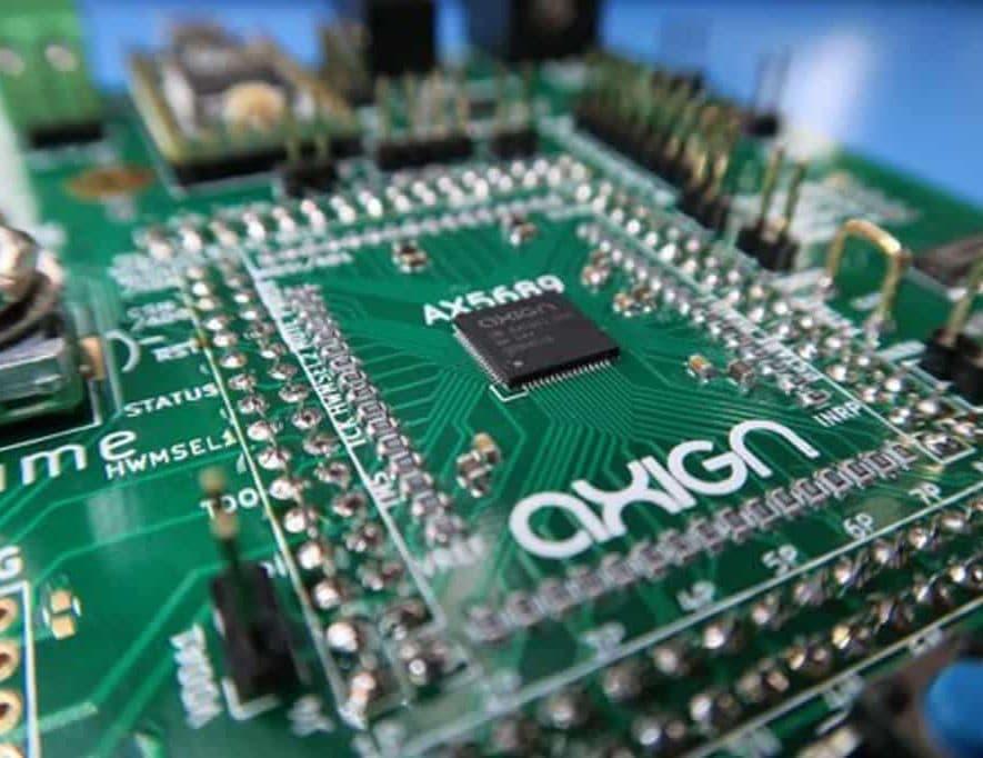 De chip van Axign