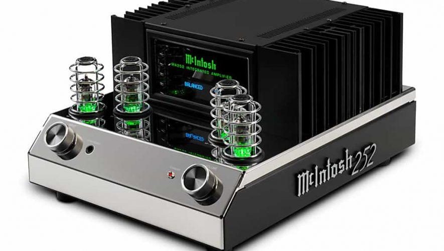 De nieuwe McIntosh MA252 hybride geïntegreerde versterker