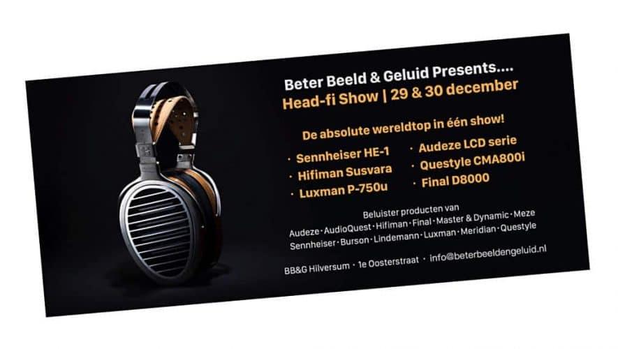 Beter Beeld & Geluid Presents… Head-fi Show (29 & 30 december)