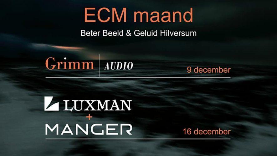 Het is ECM maand bij Beter Beeld & Geluid Hilversum