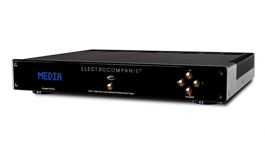De Electrocompaniet muziekstreamer ECM-1